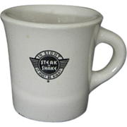 Steak N Shake Mug Shenango China USA