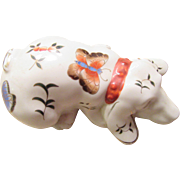 Vintage Ceramic Dog Made by Action From Japan
