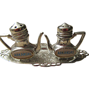 Arkansas Teapot Set of Salt and Pepper Shakers