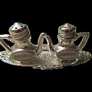 Arkansas Teapot Set of Salt and Pepper Shakers
