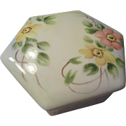 Hand Painted Trinket Box by Marion Holden