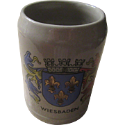 Gerz 0.5 L. Wiesbaden Oktoberfest Blue Mug