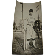 SOLD Vintage Baseball Player Photo -Petersen Classics Team 1920's