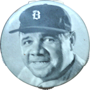 SOLD 1935 Babe Ruth Scorer -  Quaker Oats Promotional Campaign - Celluloid