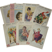 SOLD G.E. The Silent Hostess Magazines -1930's-Lot Of 7
