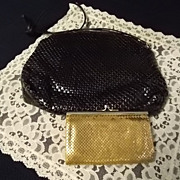 SOLD Vintage Whiting and Davis  Mesh Purses -2 - Red Tag Sale Item