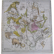 Set of 8 Celestial Engravings 1835 E H Burritt / F.J Huntington Antique Celestial Atlas ...