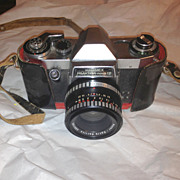 Hanimex Praktica nova IB film camera 50mm w case