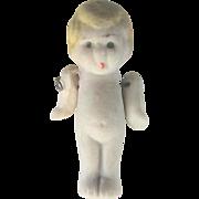 Vintage Art Deco (1920's) Minature Kewpie Bisque Doll