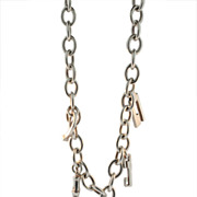Gucci Sterling Charm Necklace