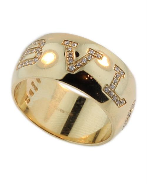 Bvlgari Yellow Diamond Ring Yellow Gold Diamond Ring