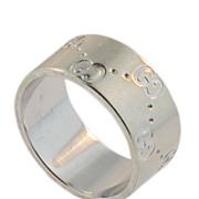 Estate Gucci White Gold Ring