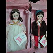 Madmae Alexander Dolls Romeo  & Juliet  MIB  Portrait Children Series  1978-87