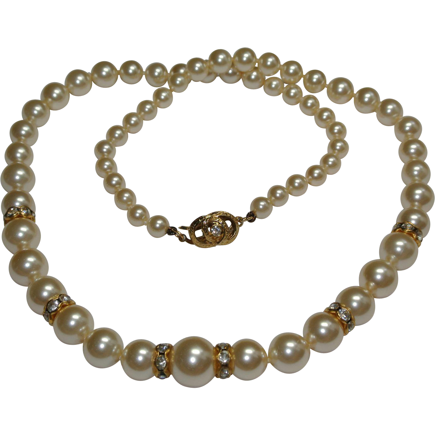 Mallorca Pearl Necklace: 00359.1L.jpg