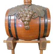Vintage honey oak Estate GERMAN Wine Barrel