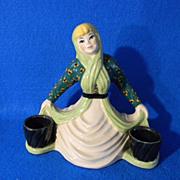 Ceramic Arts Studio Double Candle Holder