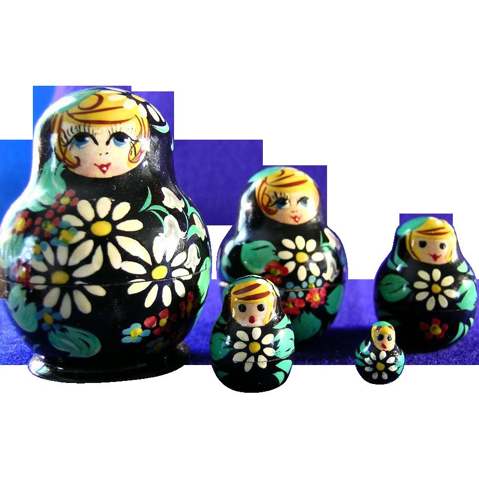 Russian Matryoshka Doll Set Nesting Dolls
