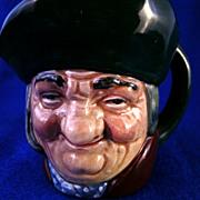 "Royal Doulton Character Jug ""Tony Philpots""  #D5737 Toby Mug"