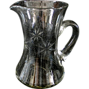 Fostoria Sunburst 48 oz Pitcher