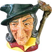 """Royal Doulton """"Pied Piper"""" Character Jug # D6462"""