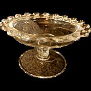 Heisey Lariat Pedestaled Candy Dish