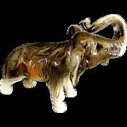 Royal Dux Lone Elephant