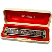 Hohner Marine Band Harmonica key of C with Original Box