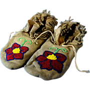 Native American Indian Children's Moccasins