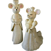 Avon Mouse Wedding Cake Toppers