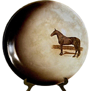 Dan Patch Commemorative Plate by Harker Pottery