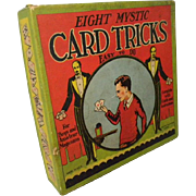 Vintage Set of Magic Card Tricks by Whitman Publishing  *Incomplete*