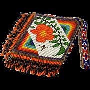 Brilliant American Indian Beaded Bag