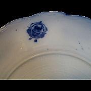 Beautiful Flow Blue Grindley Lorne Pattern Salad Plate