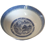 Chinese Large Porcelain Blue and White Bowl