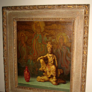 Still Life of Guanyin Oil Painting by Stan Poray