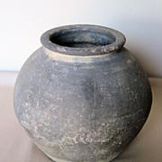 Korean Koro Pottery Jar