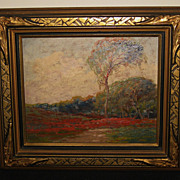 SOLD Oil Painting of a Landscape by Boris Major