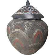 Chinese Song Dynasty Painted Pottery Covered Jar
