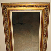 Superb Parcel-Gilt  Wood Framed Mirror