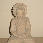Chinese Small Carved Stone Buddha