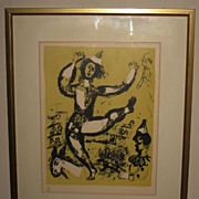 "Chagall's  ""Le Cirque"" Numbered Lithograph"