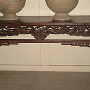 Chinese 19th C. Hetaomu Altar Table