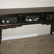 Chinese Walnut Altar Table