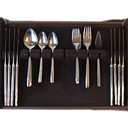 42 Pcs Oneida Ltd Melissa Stainless Steel Flatware 1881 Rogers
