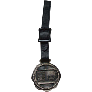 1926 Holland Tunnel Pocket Watch Fob Medal Whitehead Hoag Staff Dinner Healy's New York ...
