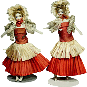 Dollhouse dolls in Ballet Costume