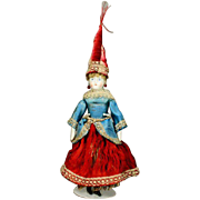 Extraordinary Fortune Telling Doll for the French Market with French Prophecies