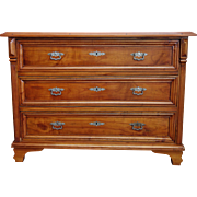 Austrian Fruitwood Chest of Drawers, Dresser, 19th Century
