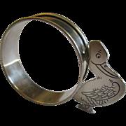 Webster Sterling Silver Child Baby Napkin Ring No Monogram