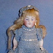 Antique German 150 All Bisque Doll